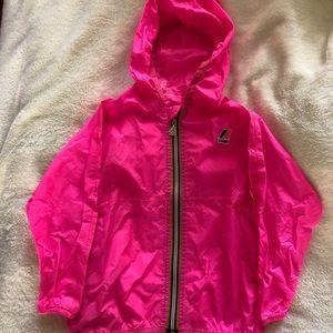 K-Way rain jacket for 3T